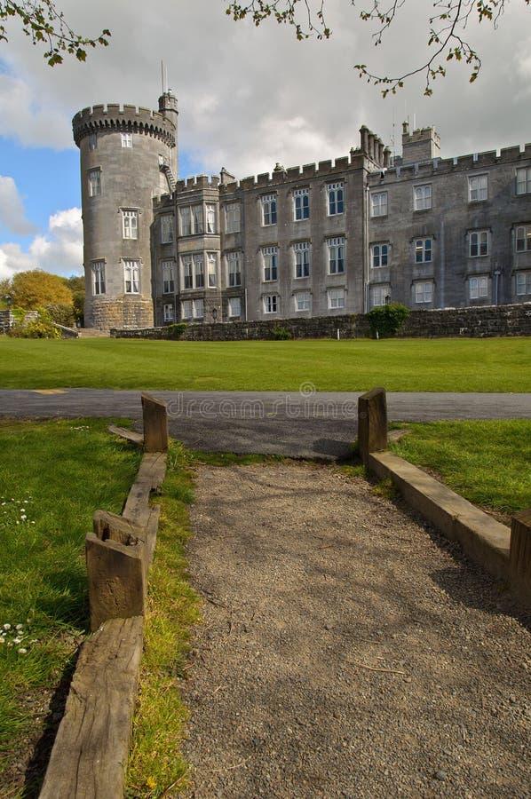 Dromoland Schlosshotel, Grafschaft Clare, Irland lizenzfreies stockbild