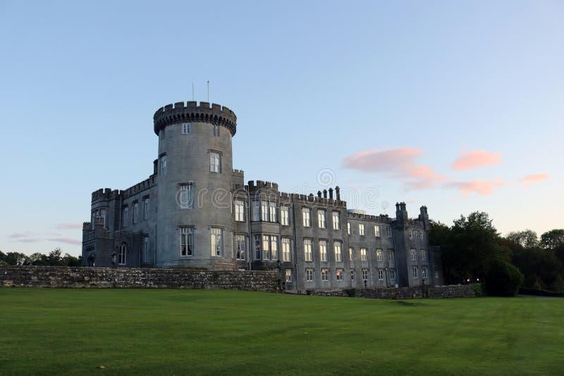 Dromoland slott royaltyfria foton