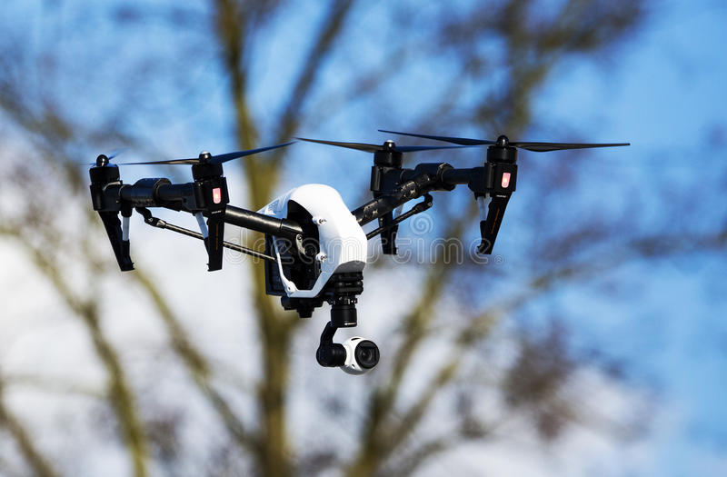 Dron royalty-vrije stock foto's