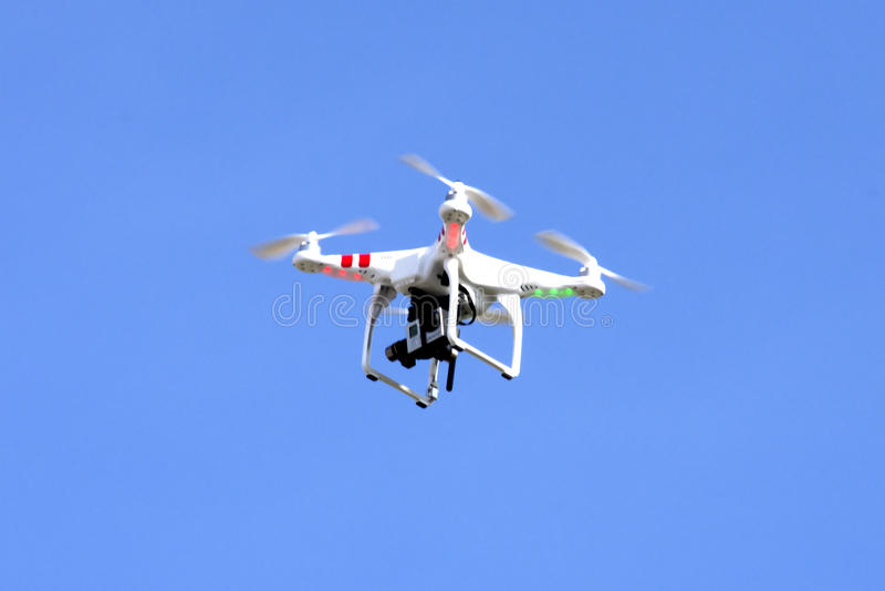 Dron obraz royalty free
