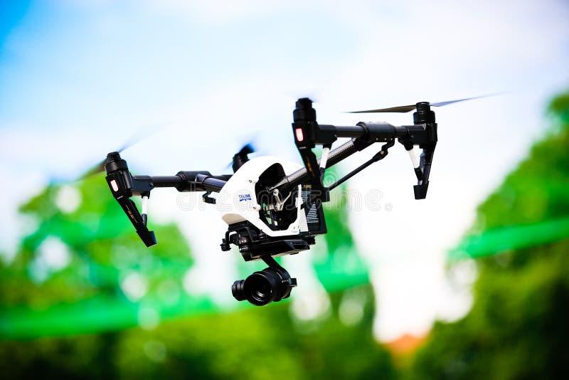 Dron DJI启发1 库存图片