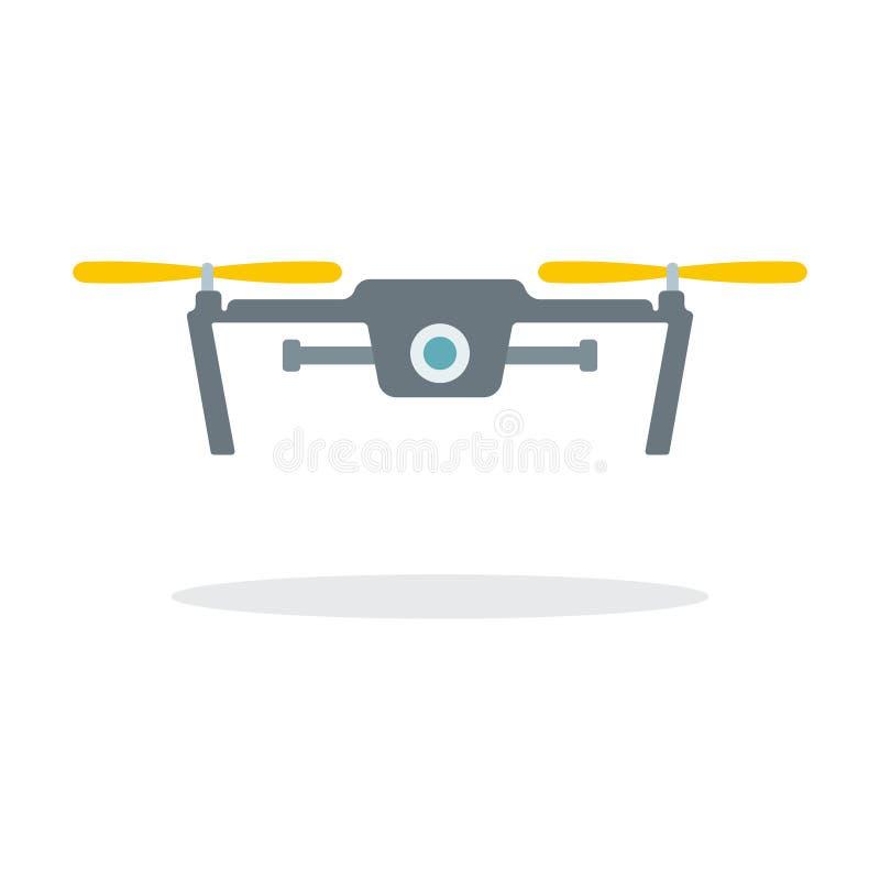 Dron z kamerą ilustracji