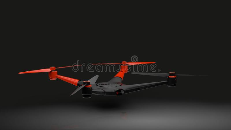 Drone On Black Free Public Domain Cc0 Image