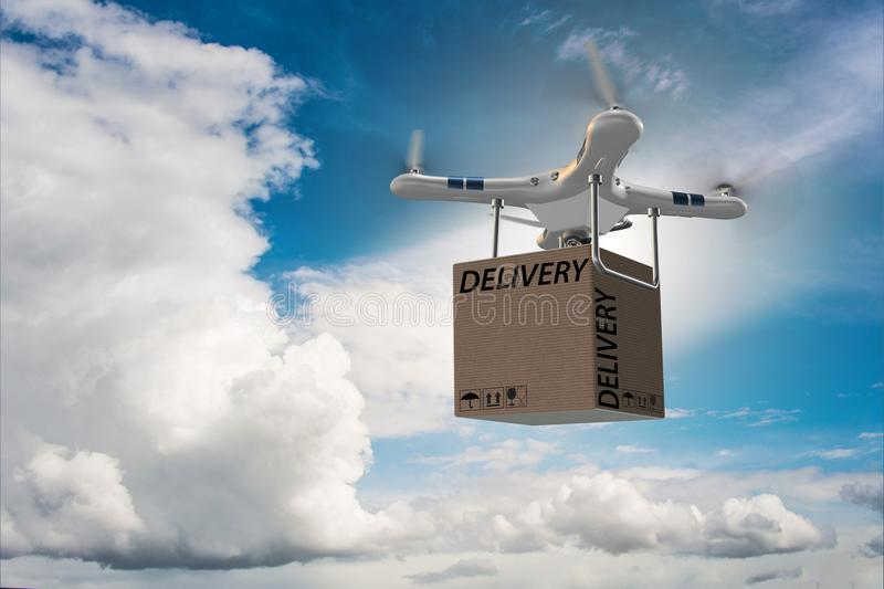 Delivery Drone Box Stock Images - Download 699 Royalty Free