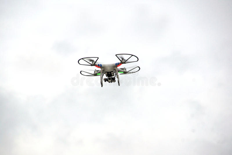 Drone stock image