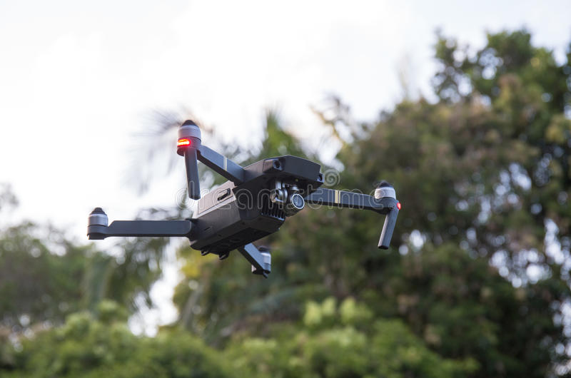 Drone flying view from the bottom royalty free stock images