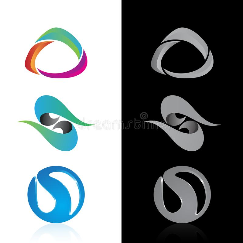 Drone icon, quadrocopter. Stylized vector symbol stock illustration