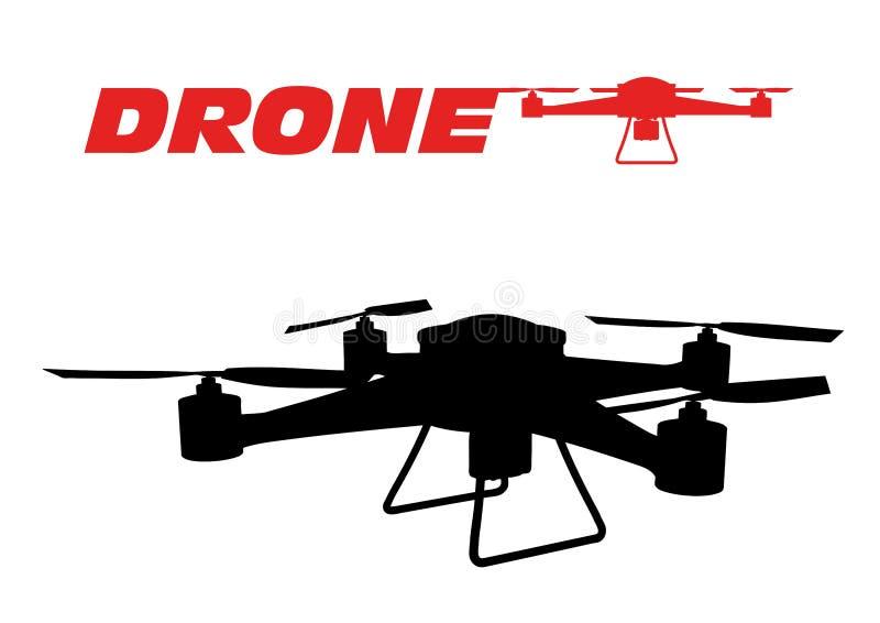 Drone royalty free illustration
