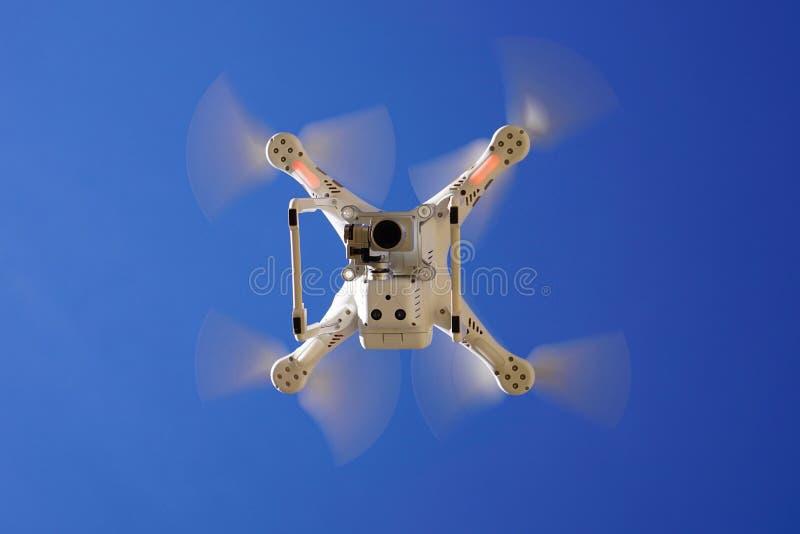 Drone overhead stock image