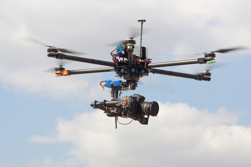 Drone, photography. NAerial, nflying, naerial photography stock image