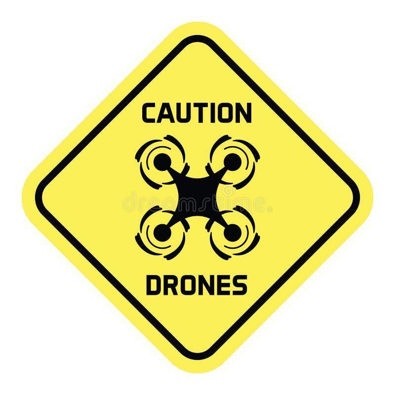 Drone-Plates vector illustration