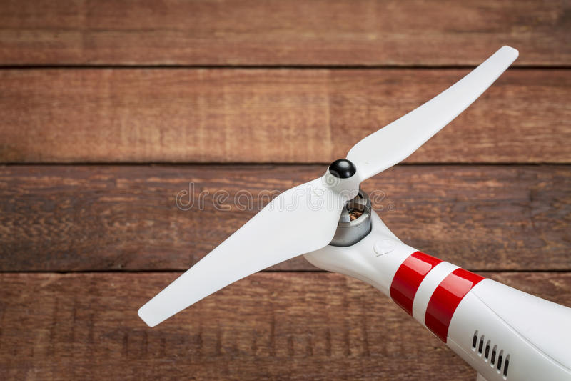 Drone propeller royalty free stock images