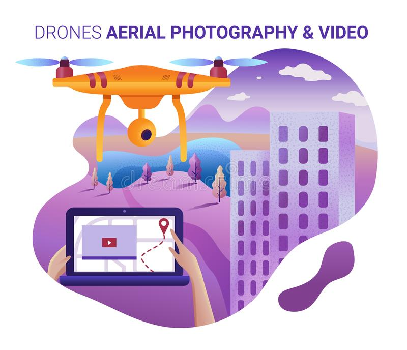 Drone Mapping Stock Illustrations – 62 Drone Mapping Stock