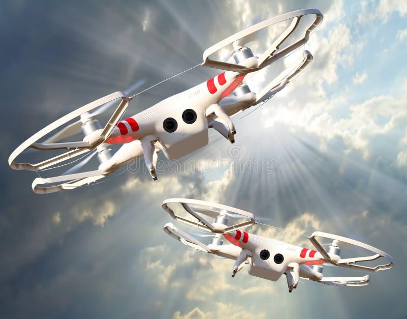 The Drone. stock photos