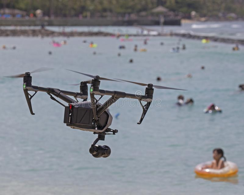 Drone. S have become a cost-effective tool for Search & Rescue personnel as well as lifeguards stock photos