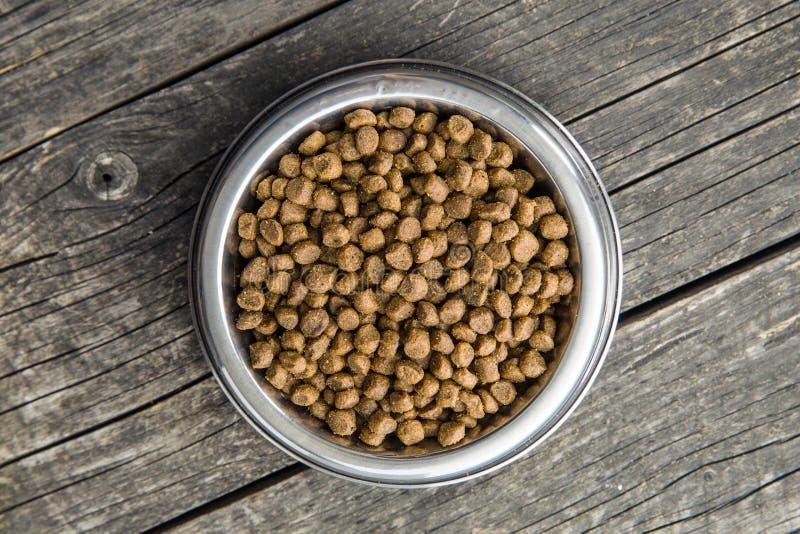 Droog voedsel voor honden of katten royalty-vrije stock afbeeldingen