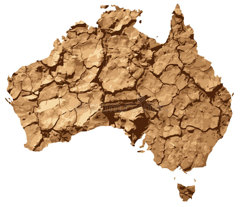 Droogte beïnvloed Australië