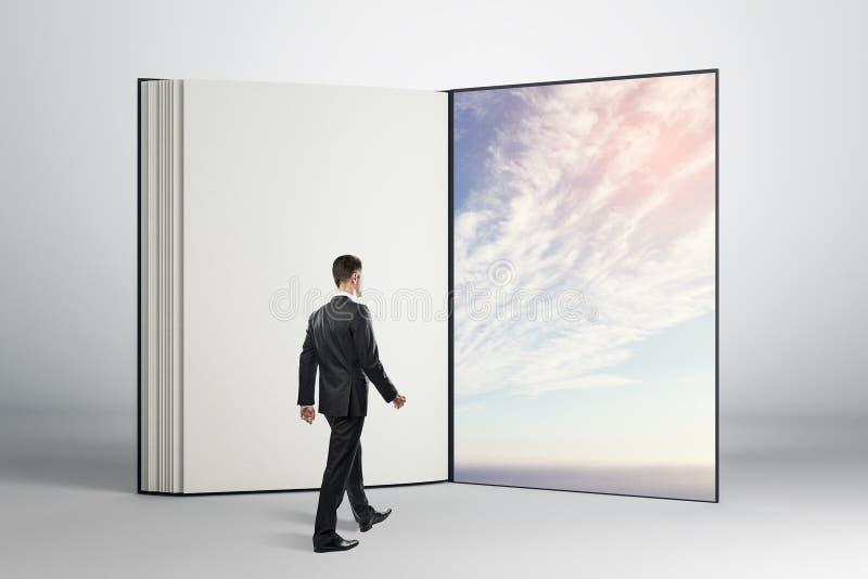 Droom en toekomstig concept stock afbeelding