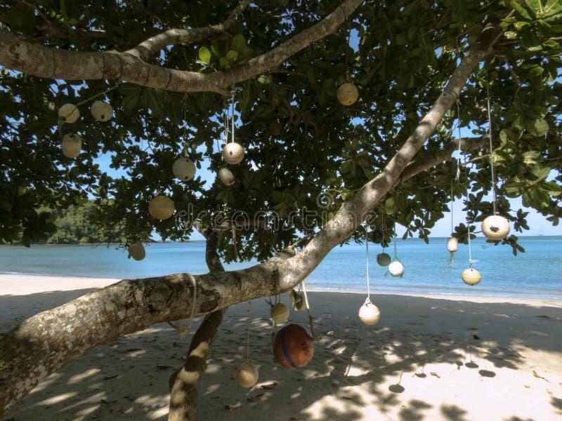 Droom geheim strand bij het Nationale Park van Tarutao, Thailand royalty-vrije stock foto