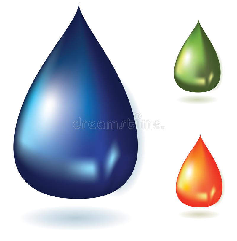 Download Drop stock illustration. Image of climate, form, moisture - 19746265