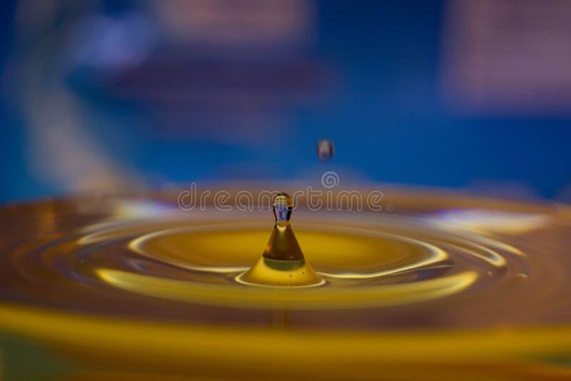 Drop bevattnar arkivfoton