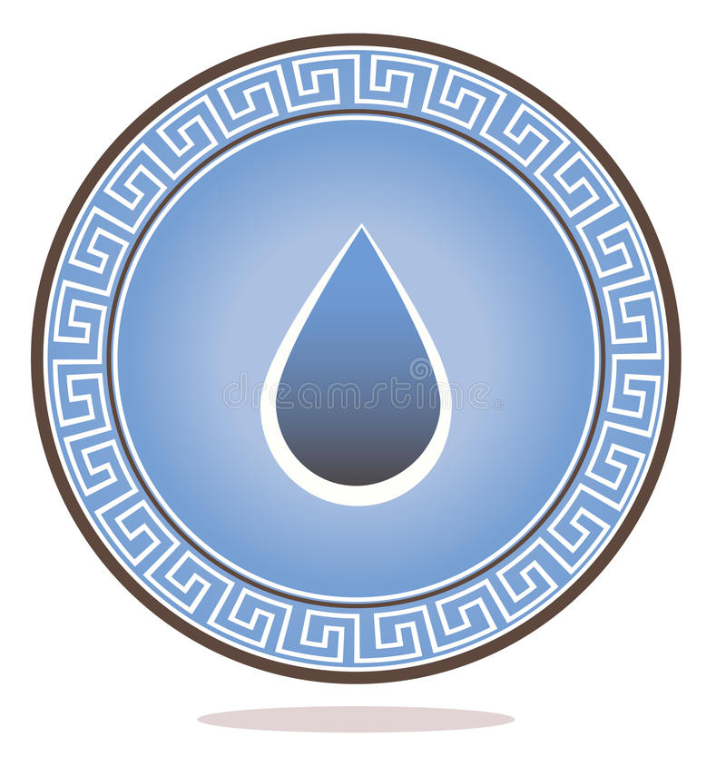 Download Drop ornament stock vector. Image of health, fresh, corporate - 28469367