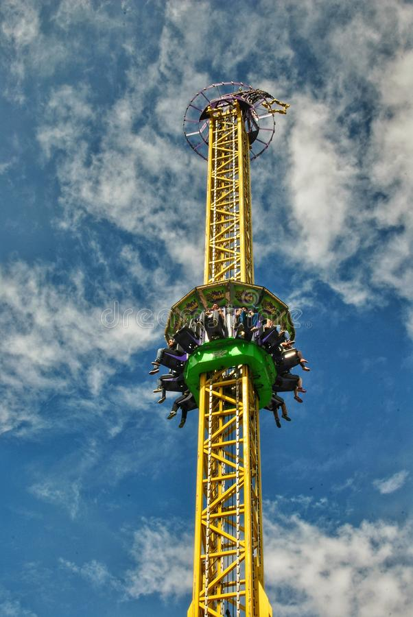 S And B Filters >> Drop Tower editorial stock photo. Image of enchanted ...