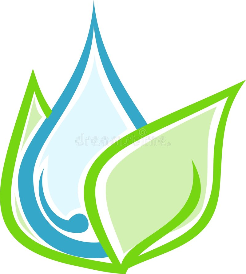 Download Drop of water stock vector. Illustration of business, conservation - 9138278