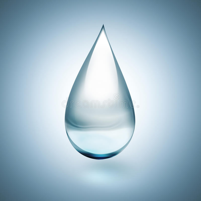 Drop of water vector illustration