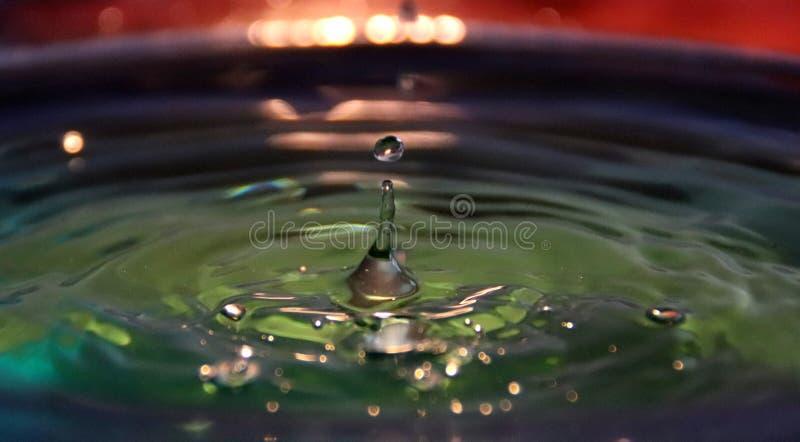 Drop wave stock image