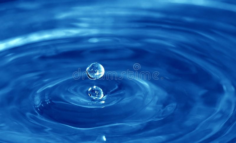 Drop1 stock image