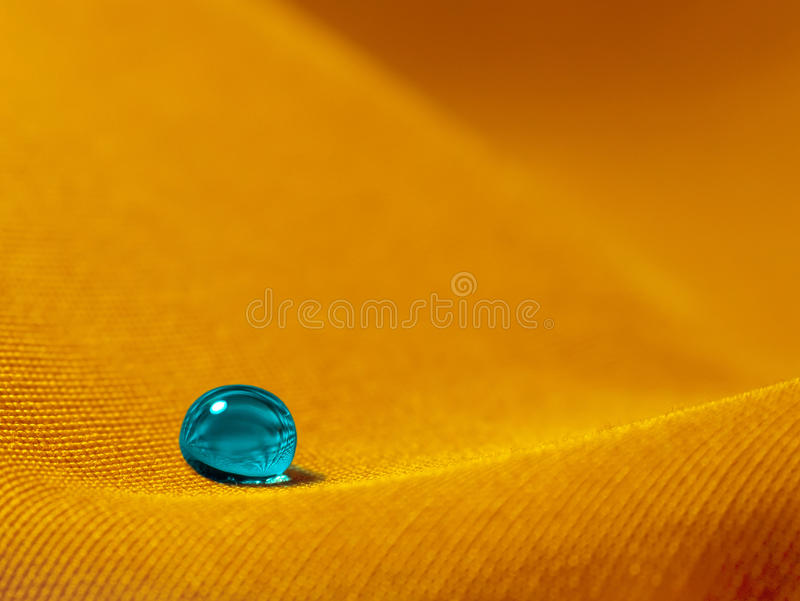 Droplet On The Sand Royalty Free Stock Photography