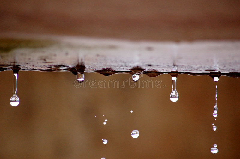Droplets stock photography