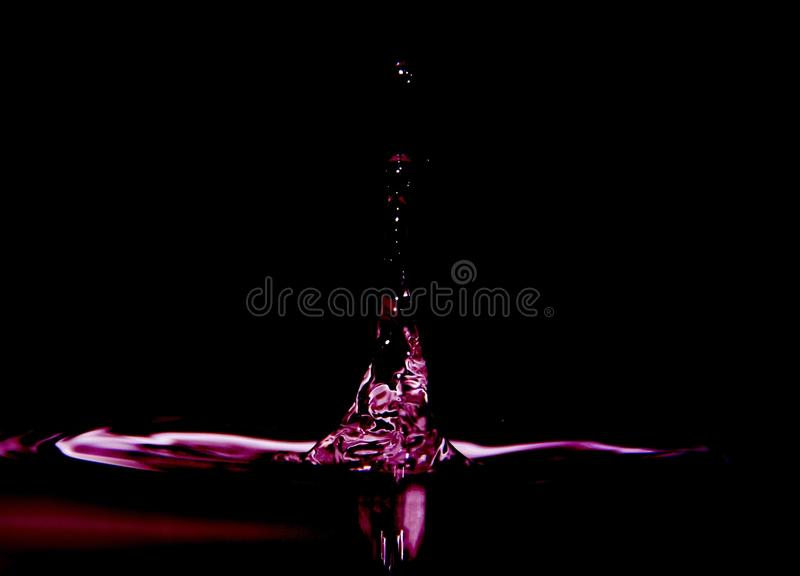 Droplets royalty free stock photo