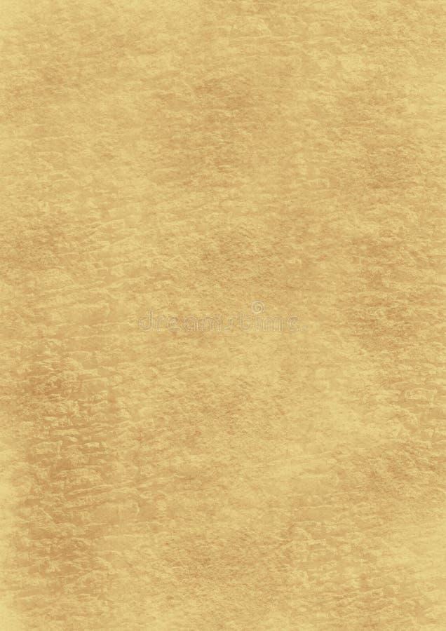 Droppar av målarfärg på en brun bakgrund stock illustrationer