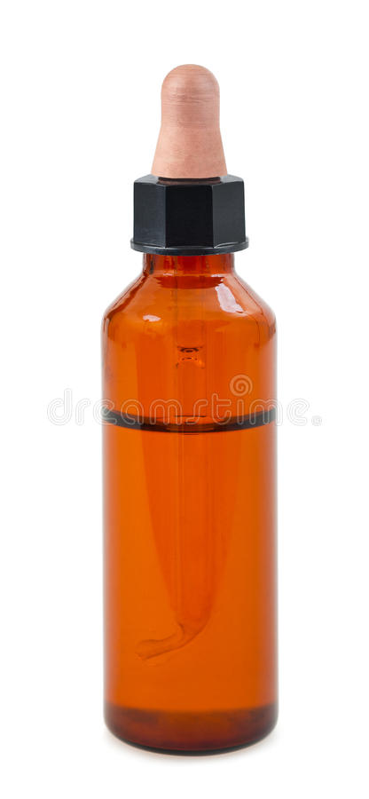 Dropper bottle royalty free stock images
