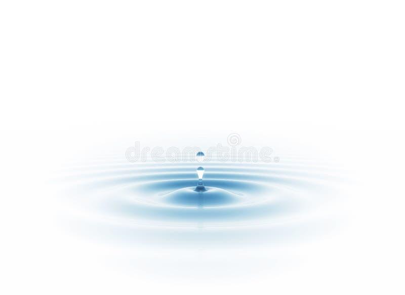 droppvatten royaltyfri fotografi