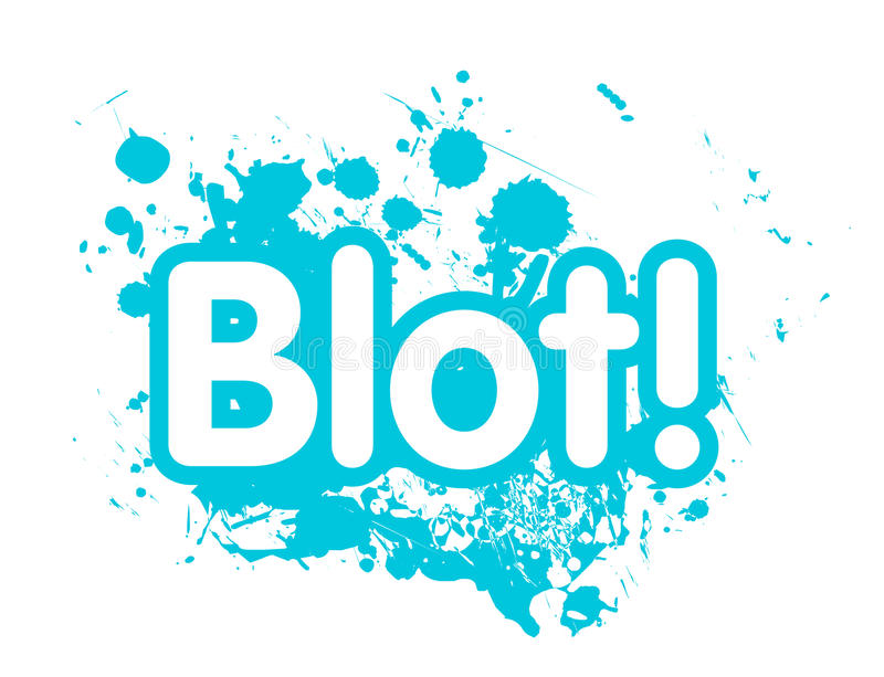 Download Drops blot stock vector. Image of drop, grunge, ornament - 21413233