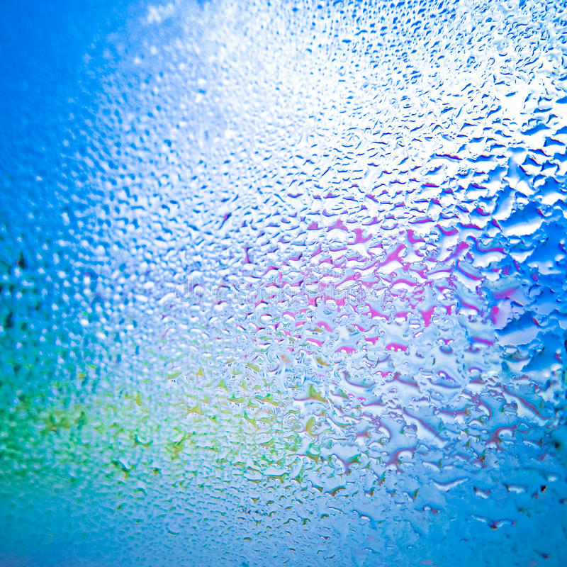 Download Drops on glass after rain stock image. Image of bubble - 21467127