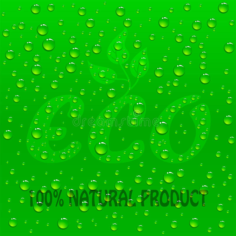 Download Eco background stock vector. Image of drink, ecologic - 30203790