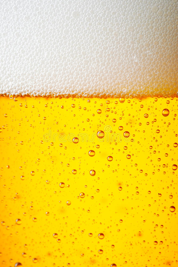 Drops of a Ice Cold Pint of Beer stock photos