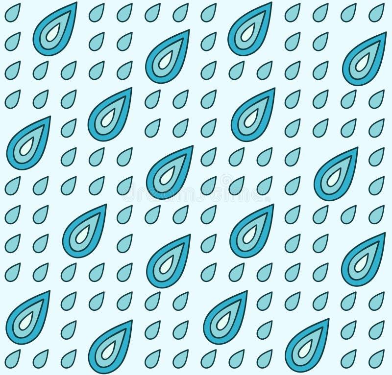 Download Drops pattern stock vector. Illustration of repeat, illustration - 28551442