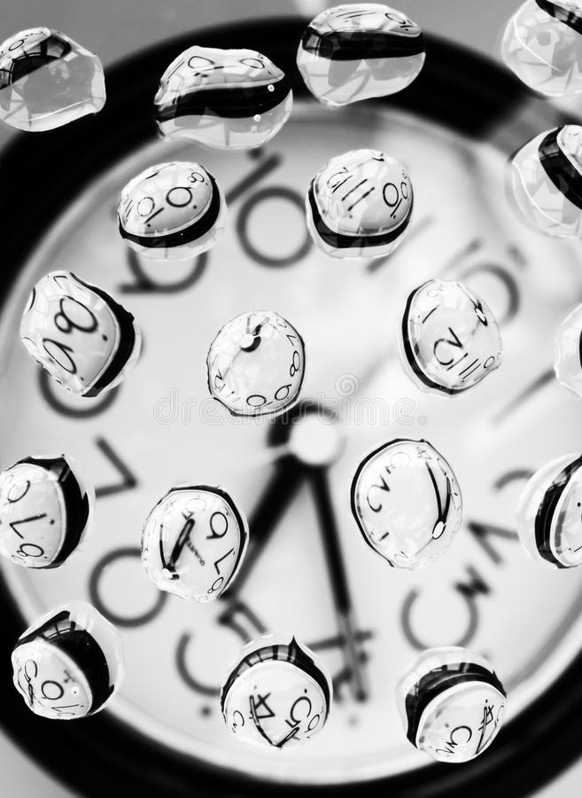 Drops of Time royalty free stock photography
