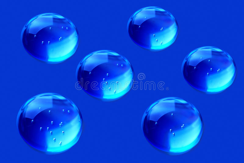 Download Drops of water stock photo. Image of reflected, foam - 24494226