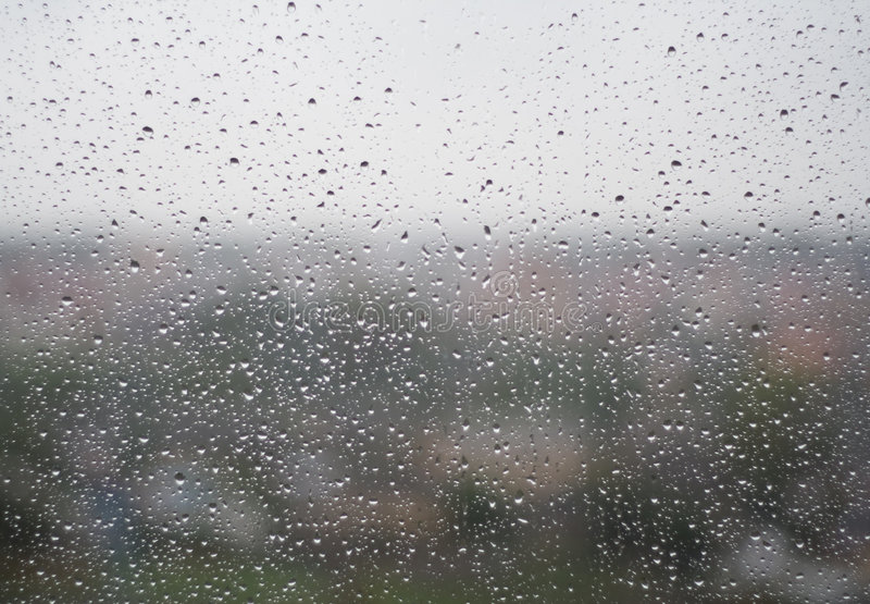 Download Drops On Window Stock Image - Image: 6602771