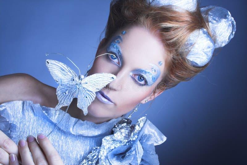 Is-drottning. arkivfoto