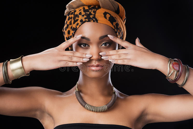 Drottning av Afrika arkivfoto