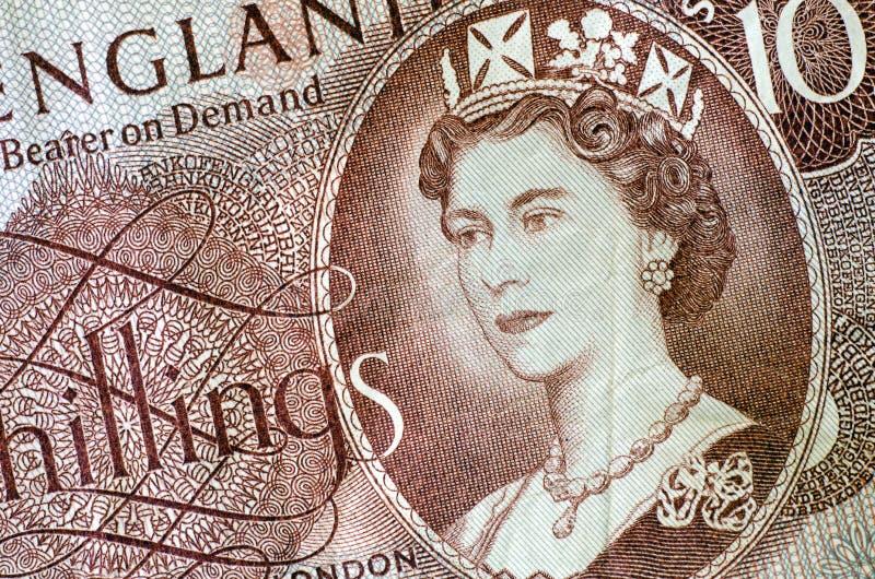 Drottning Elisabet royaltyfri bild