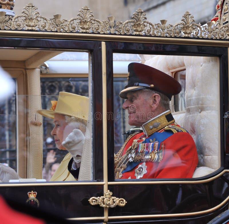 Drottning Elizabeth II royaltyfri bild
