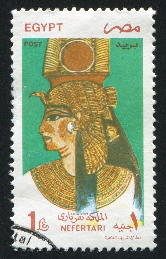 Drottning Nefertari arkivfoton